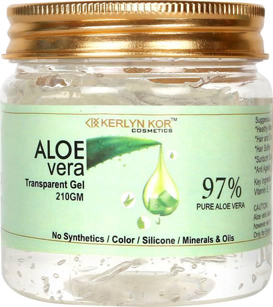 Kerlyn Kor 97% Aloe Vera Gel For Skin & Hairs ( Multi Purpose Gel )