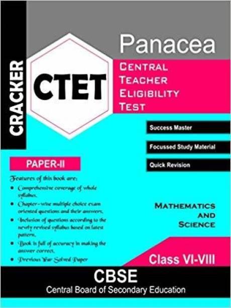CRACKER: 'Guide':- CTET Mathematics and Science (Paper-II)- Class VI-VIII