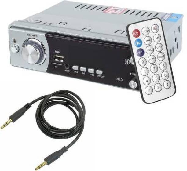 Auto Garh Bluetooth/USB/FM/AUX/MMC/ with 3.5MM AUX Cable Car Car Stereo