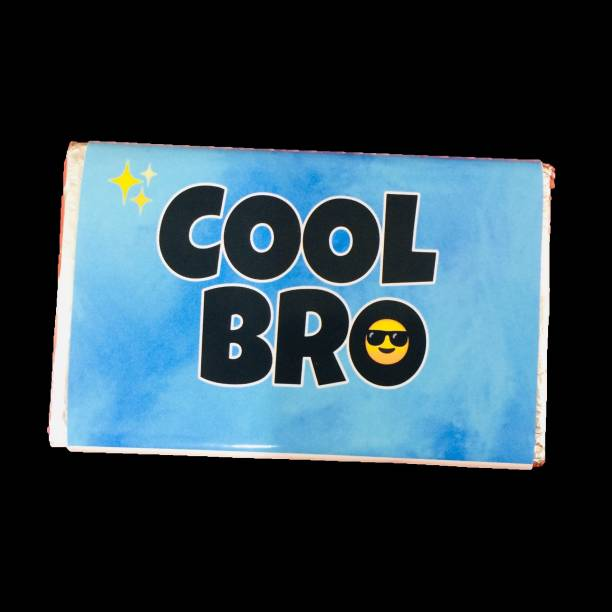 Expelite Bhaidooj gift for bro- cool bro-Nuts Chocolate Bar Bars