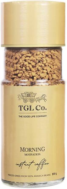 TGL Co. Morning Motivation Instant Coffee Powder Freeze Dried from 100% Arabica Coffee Beans Instant Coffee