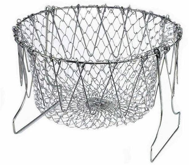 Laxit Enterprise Collapsible Deep Frying Basket Collapsible Deep Frying Basket