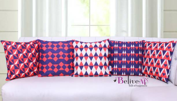 Belive-Me Geometric Cushions & Pillows Cover