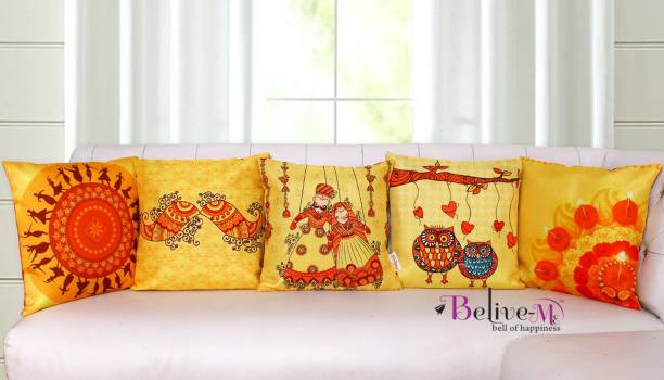 Belive-Me Printed Cushions & Pillows Cover