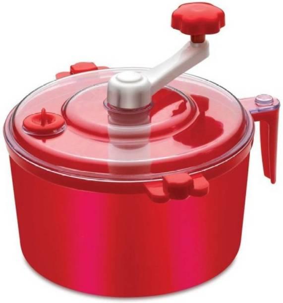 MEZIRE ®Automatic Non Electric Dough Maker Machine Atta Maker for Kitchen Plastic Detachable Dough Maker