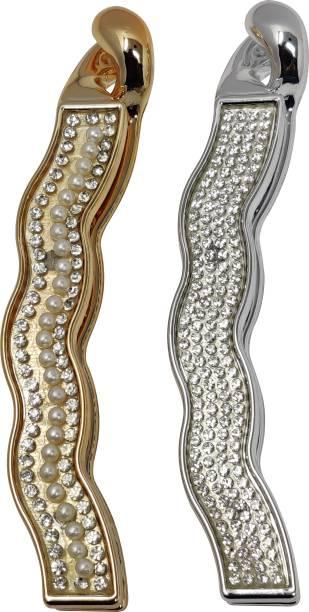 Evogirl Hair Clip Premium Diamond Curvy Shaped Accessories Banana Clip