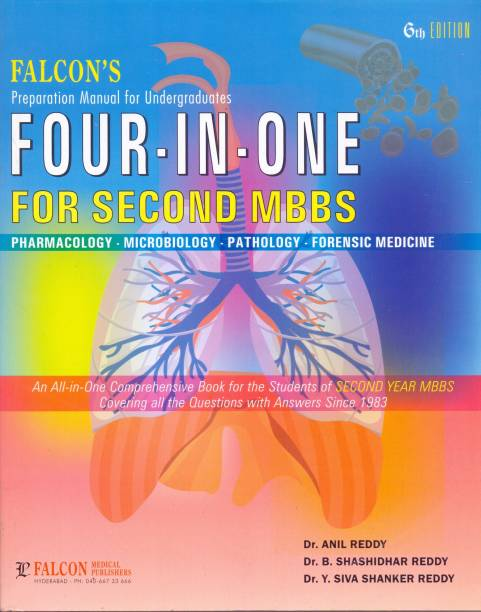 Four In One For Second Mbbs .pharmacology.pathology.microbiology.(6th ED 2020)