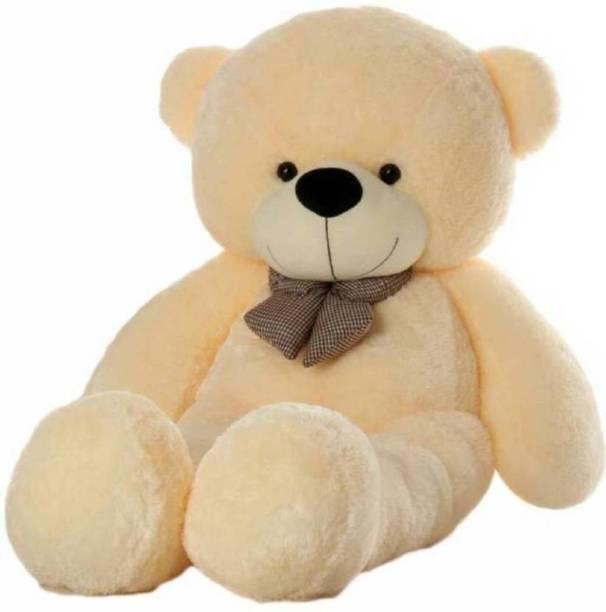 TEDDYIA 3 Feet Soft And Cute teddy Bear - Cream (90 CM )  - 91.78 cm