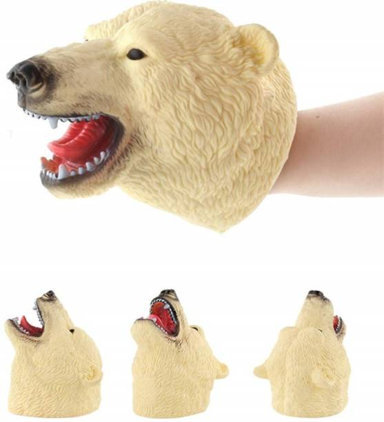 Miss & Chief Bear Hand Puppet for Kids Hand Puppets