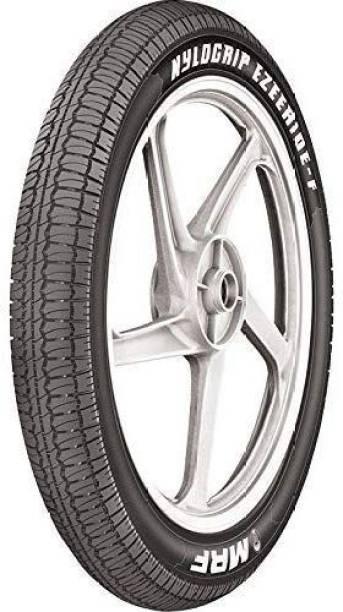 MRF EZEERIDE-F 80/100-18 47P Tubeless Tyre Front Tyre