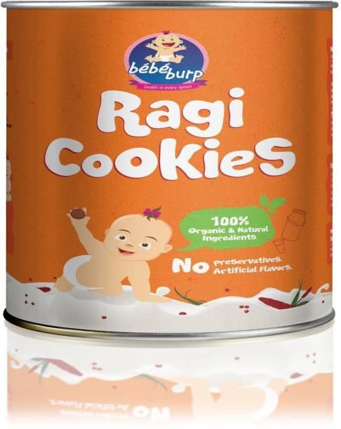bebe burp Ragi cookies Baby Crispies 200 g