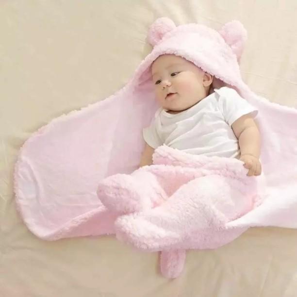 Baby Boys and Girls Cosy Fleece Blanket//Wrap Snuggle Baby