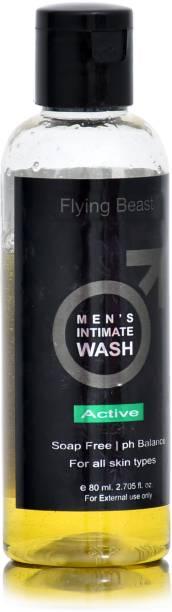 Flying Beast Active Men's Intimate Wash ,Soap free | ph balanced