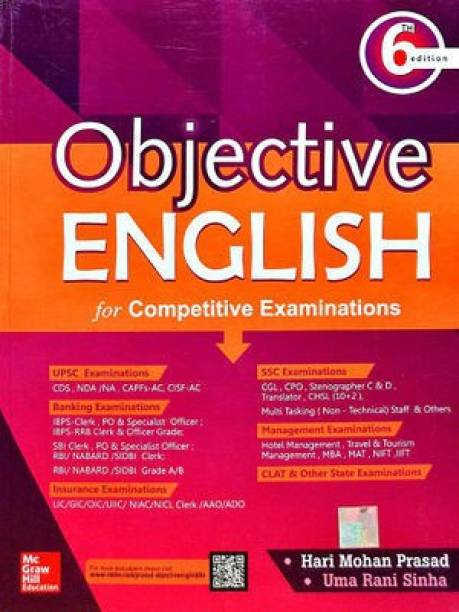 Objective English - For Competitive Examinations
