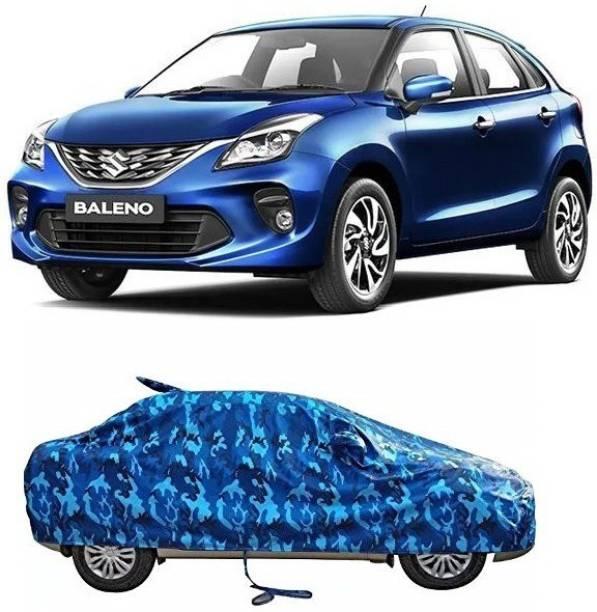 SA GROUP Car Cover For Maruti Suzuki Baleno (With Mirror Pockets)