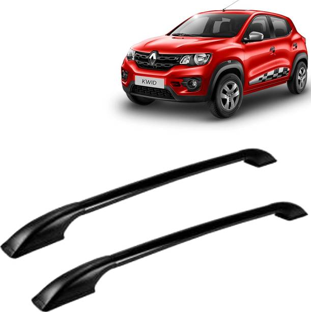 VOCADO Exclusive Car Stylish Drill free Roof Rails Black For Renault Kwid Car Beading Roll For Bumper, Grill and Garnish Cover, Window