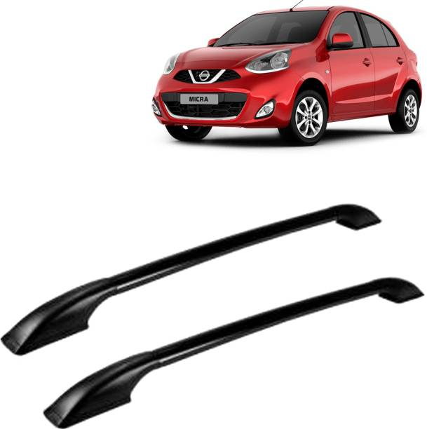 VOCADO Exclusive Car Stylish Drill free Roof Rails Black For Nissan Micra Car Beading Roll For Bumper, Grill and Garnish Cover, Window