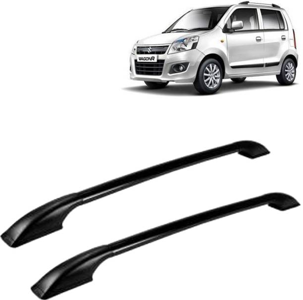 VOCADO Exclusive Car Stylish Drill free Roof Rails Black For Maruti Wagon-R Car Beading Roll For Bumper, Grill and Garnish Cover, Window