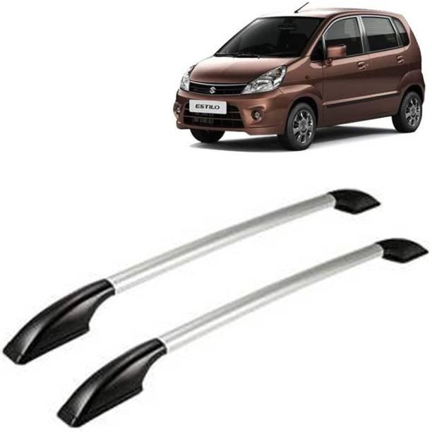 VOCADO Exclusive Car Stylish Drill free Roof Rails Black & Silver For Maruti Zen Estilo Car Beading Roll For Bumper, Grill and Garnish Cover, Window