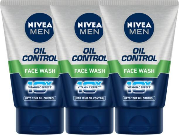 NIVEA Oil control Face wash- Pack of 3 Face Wash