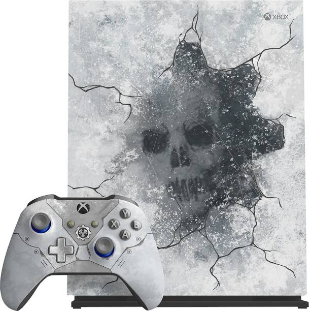 MICROSOFT Xbox One X 1 TB with Gears 5 Ultimate Edition; Full Game Downloads of Gears of War-Ultimate Edition and Gears of War 2, 3, 4