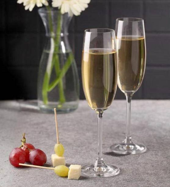 New Town (Pack of 2) Crystal Wine Glass Glass Set