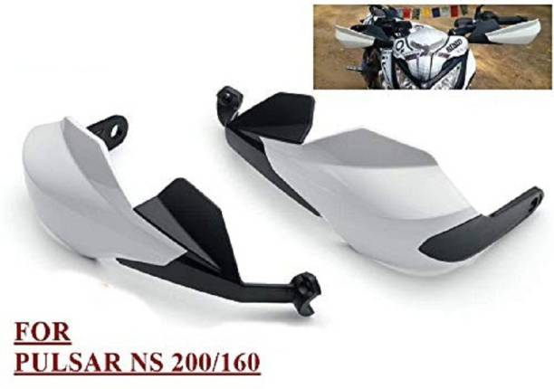 Love Me d Deflector Lever Protector FOR NS200/AS200 (WHITE) Handlebar Hand Guard