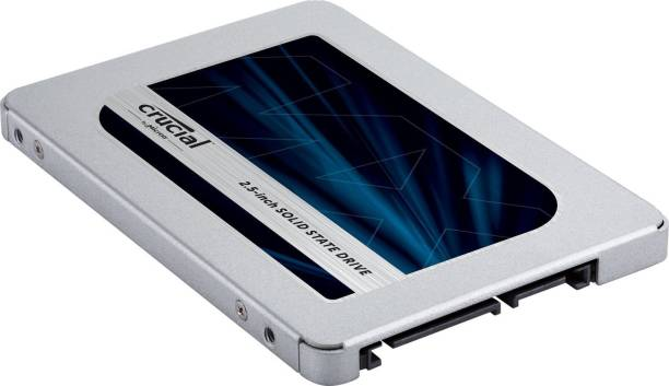 Crucial MX500 500GB 3D NAND SATA 2.5 Inch 500 Laptop Internal Solid State Drive (CT500MX500SSD1)