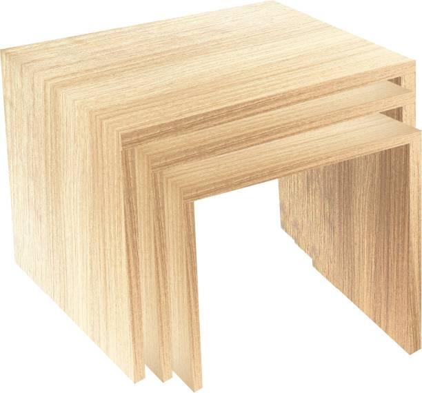 Decostyle Nesting Table Nesty Engineered Wood Nesting Table
