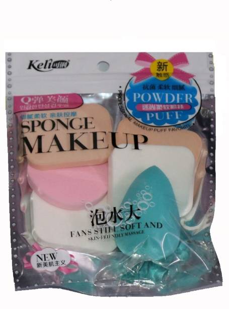 Miss Hot keli Sponge Makeup 6 In 1