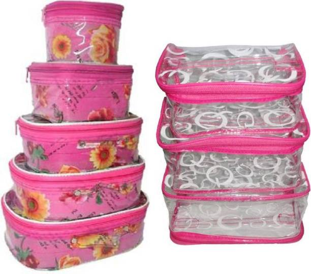 ultimatefashionista combo offers cosmetic bag vanity box Vanity Box Pack of 2 cosmetic bag vanity box Vanity Box