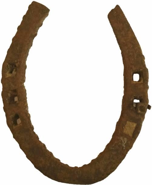 Top Craft India Black Horse ring Decorative Showpiece  -  10 cm