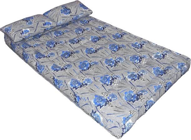 Bhooom Kapok ilavam Panju Blue 7 inch Queen Fiber Mattress