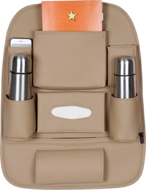 AutoFurnish 3D Car Auto Seat Back Multi Pocket Car Storage Bag & Bin