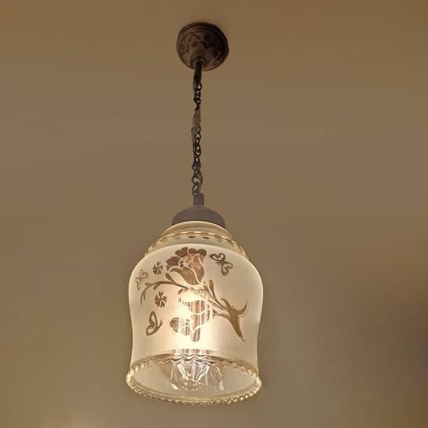 PR Prashant Ceiling Pendant Designer Printed Hanging Lamp (Clear) Pendants Ceiling Lamp
