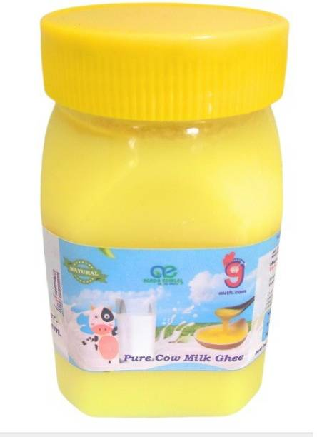 99Auth 250 mL Organic Genuine Pure Natural Desi Ghee. Ghee 250 ml Plastic Bottle