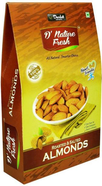 D NATURE FRESH Roasted & Salted 250gm Almonds