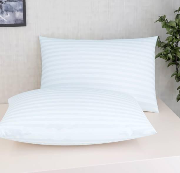 Flipkart SmartBuy Polyester Fibre Stripes Sleeping Pillow Pack of 2