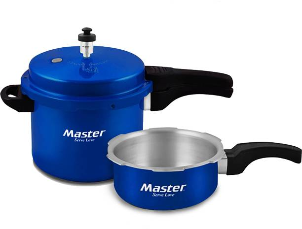 Master Aura 3 L, 5 L Pressure Cooker & Pressure Pan