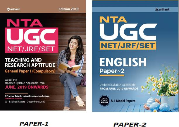 NTA UGC NET PAPER 1 With Paper-2 ARIHANT UGC NET ENGLISH LITERATURE For Eligibility For Assistant Professor Or JRF (National Eligibility Test And State Eligibility Test) With Previous Years' Papers, (ARIHANT,UGC NET, UGC NET ENGLISH LITERATURE,SET,Paper 1,ENGLISH MEDIUM) (NET/SET/NTA By UGC NET EXAM)
