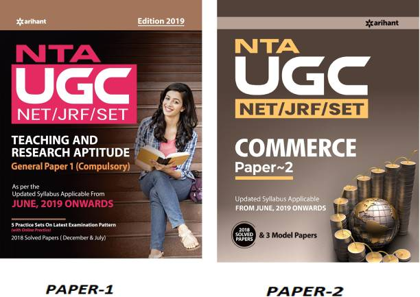 NTA UGC NET PAPER 1 With Paper-2 ARIHANT UGC NET COMMERCE For Eligibility For Assistant Professor Or JRF (National Eligibility Test And State Eligibility Test) With Previous Years' Papers, (ARIHANT,UGC NET, UGC NET COMMERCE,SET,Paper 1,ENGLISH MEDIUM) (NET/SET/NTA By UGC NET EXAM)