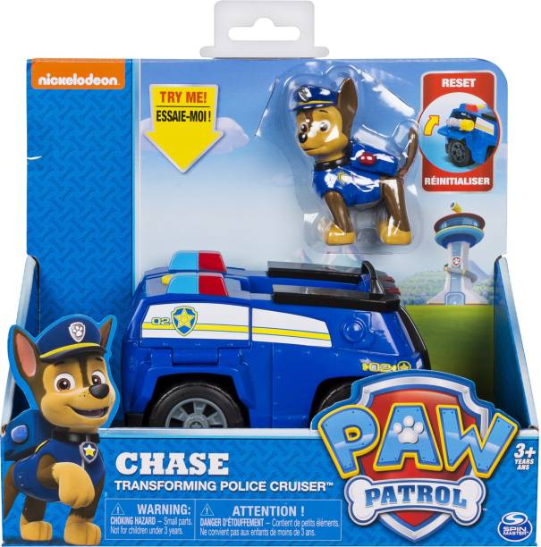 PAW PATROL Feature Transform Vehicle - Chase