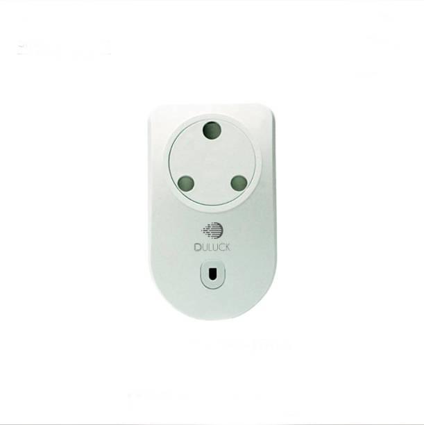 Duluck WiFi Smart Plug, IOT Plug, Wifi Plug, Good for AC & Water motor, Suitable for Geyser, Lights, Wall sockets, Iron, Air purifier, It works with Alexa & Ok-Google, Max load Capacity up to 3400-watt inductive, WPC & ETA certified, model (PS-16-LS) Smart Plug