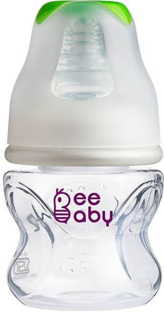 Beebaby Comfort Slim Neck Baby Feeding Bottle. 100% BPA Free (Green) (60 ML / 2 Oz.) - 60 ml