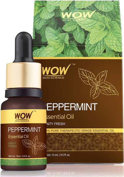 WOW SKIN SCIENCE Peppermint Essential Oil - 15 ML