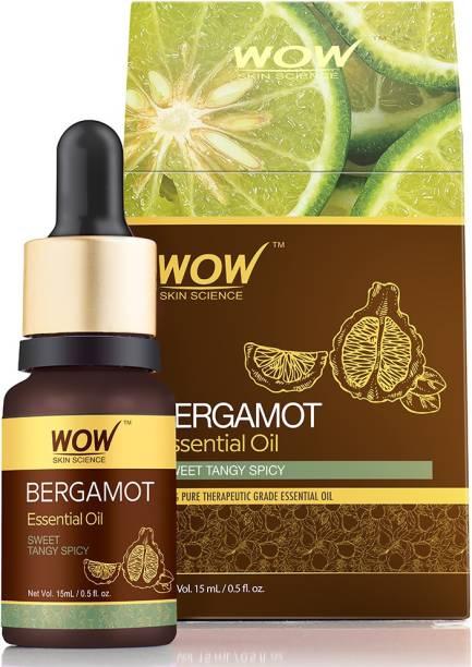WOW SKIN SCIENCE Bergamot Essential Oil - 15 mL