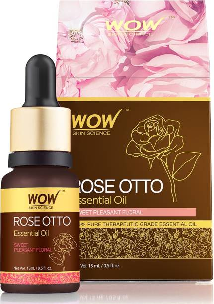 WOW SKIN SCIENCE Rose Otto Essential Oil - 15 ML