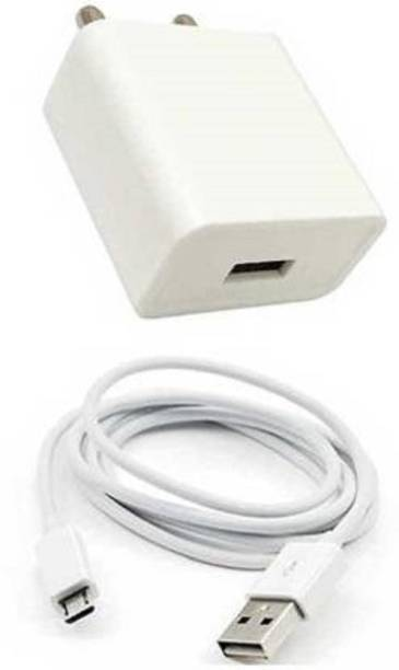 dolevas White Fast Charge with Micro USB Sync Cable Mobile Charger 3.4 A Mobile Charger with Detachable Cable