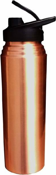 homeinn Pure Copper Sipper Bottle for Sports/home/office/school Leakproof Yoga Sipper 1000 ml Sipper