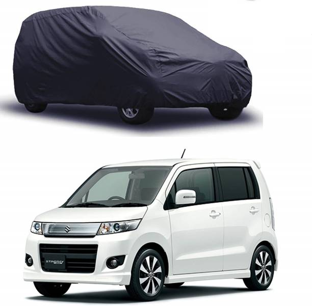 SS Mart Car Cover For Maruti Suzuki WagonR (Without Mirror Pockets)